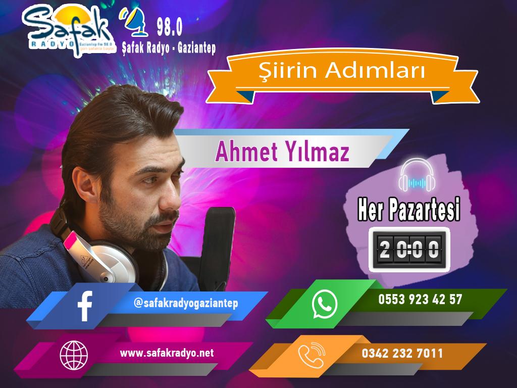 64-Ahmet Yılmaz- Şiirin Adımları 03.02.2020
